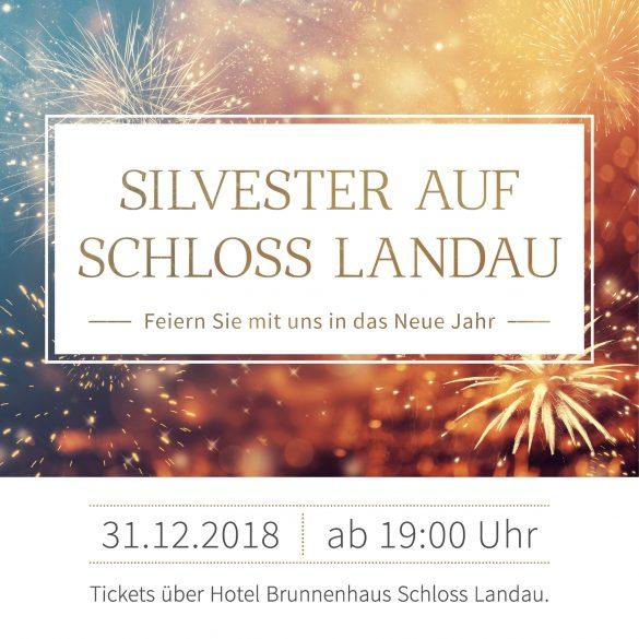 Silvester auf Schloss Landau