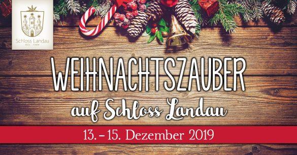 Weihnachtszauber Schloss Landau