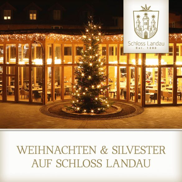 Weihnachten und Silvester auf Schloss Landau