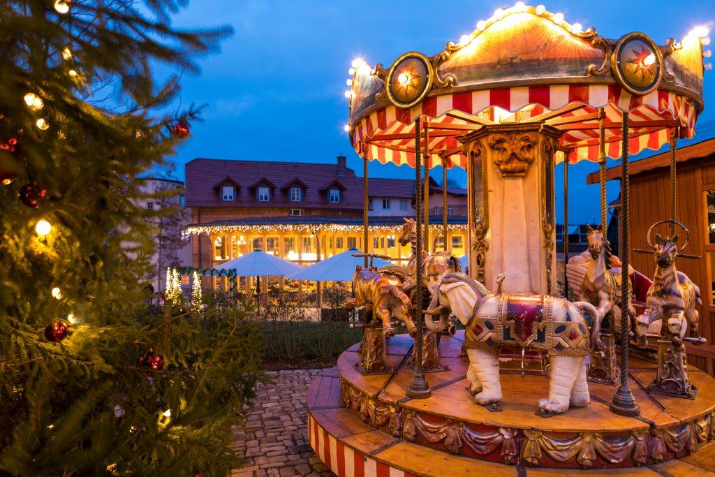 Weihnachtszauber am Schloss Landau