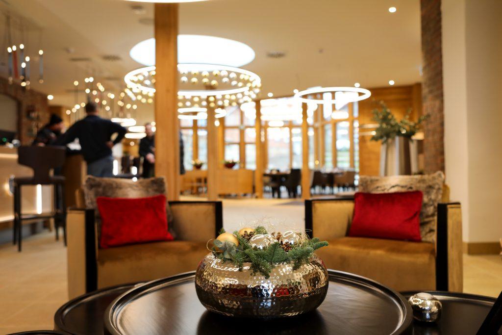 Lobby Hotel Brunnenhaus Schloss Landau